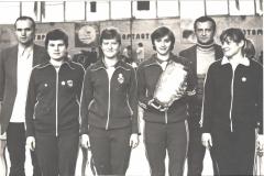 1983 женская команда «Метеора» завоевала Кубок СССР