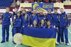 Фото сборной Украины 17-летних, завоевавших серебро на Чемпионате Европы в 2007 году